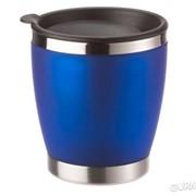 Кружка EMSA CITY CUP из нержавеющей стали с синим покрытием Soft-Touch 0,2л (EM504842) фото