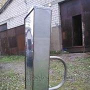 Бак для бани полностью из нержавеющей стали (ДхШхВ)1000х250х1000 (или по размерам заказчика) фото
