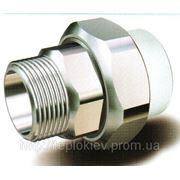 Муфта разъемная наружная резьба Firat 32-1 мм фото