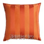 Чехол на подушку, оранжевый ХЕНРИКА фото