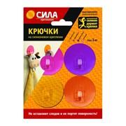 Крючки СИЛА на силикон. крепл. 5, набор GIRL до 1 кг, 4 шт. [SH5-R4GMIX-24]