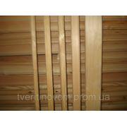 Наличник дверной сосновый 2-й сорт 30 мм. фото