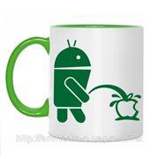 Чашка Андроид 2 фото