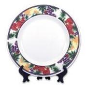 Тарелки под сублимацию, сублимационные тарелки под нанесение фото