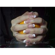 Коррекция ногтей — гель