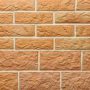Керамическая облицовочная плитка Терракот Рваный камень Мини/Макси фото