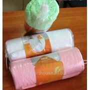 Простыни на резинке микрофибра -розовый фото