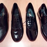 Туфли мужские для спортивных бальных танцев фото