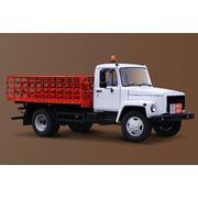 Машина для перевозки баллонов ГАЗ 3309