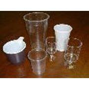 Одноразовые стаканы из полипропилена(белые и прозрачные)