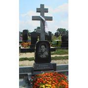 Памятник одиночный крест сверху