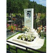 Мраморный памятник № 2 фото