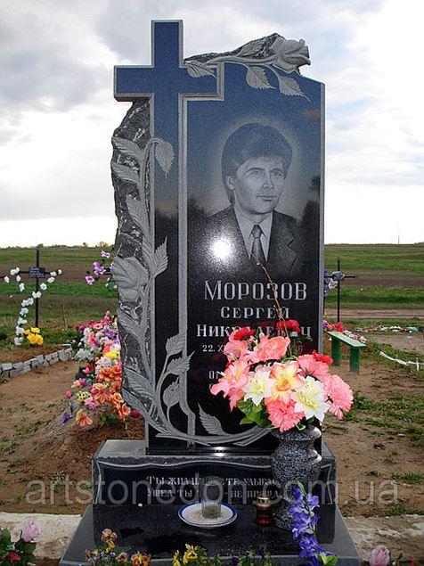Памятник с крестом Красный Кут памятник с сердцем Сухаревская