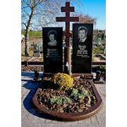 Памятники гранитные (Образцы №412) фото