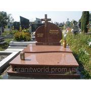 Гранитные памятники для двоих Житомир (Образцы №439) фото