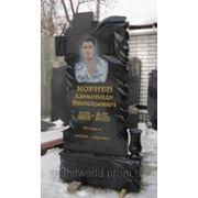 Одинарные памятники Житомир (Образцы №275) фото