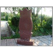 Памятники из гранита (букинское габбро лезники)(Образец №153) фото