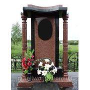 Фигурные памятники из гранита Житомир(Образцы №341) фото