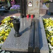 Надгробия ганитные от производителя (Образец 555) фото