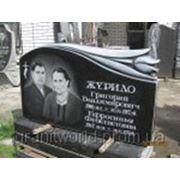 Памятники для двоих человек из гранита (Образцы №426) фото