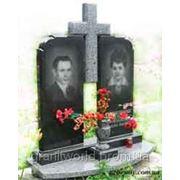 Памятники для двоих гранитные Житомир (Образцы №424) фото