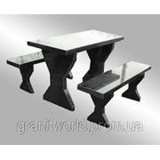 Столы и лавочки из гранита Житомир (Образец 601) фото