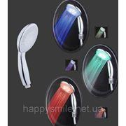 Лейка светодиодная для душа, трехцветная, сенсорная ZEGOR™, модель WKY-6301 фото