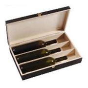 Деревянная упаковка для вина.КупитьЦенаОпт фото