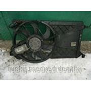 Диффузор с вентилятором (1,8-2,0л) Форд Фокус 2 | Ford Focus 2 (05-11) (б.у.) фото