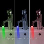 Светодиодный кран (медный) фото