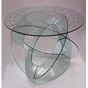 Стеклянный столик фото