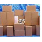 Отходы разной упаковки. фото