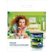 Производство полиэтиленовых пакетов с нанесением печати фото