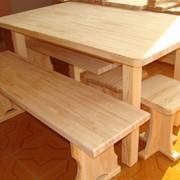 Стол деревянный фото