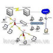 Прокладка компьютеных сетей. фото