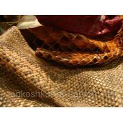 878 Лоскут натуральной кожи рептилий