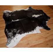 Шкура корови чорно біла 4,1 м. кв. фото