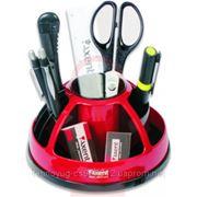 Набор настольный, 11 предметов, DUOTON Axent, в блистерной упаковке, красный (3618902)