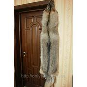 Мех, Шкуры волка, выделанные. Длина 95 см. фото