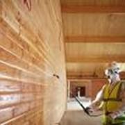 Огнезащитная обработка деревянных и металлических конструкций фото