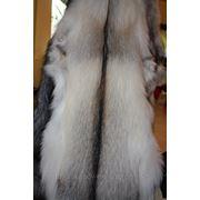 Мех белой лисы (шкурки выделанные) Fown Light Fox (Фанни). Канада. Длина 80 см. Отправка по Украине фото