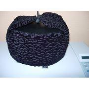 Шапки-ушанки из искусственного каракуля