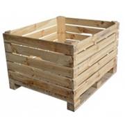 Ящики деревянные для овощей на экспорт фото