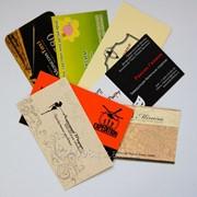 Печать визиток, листовок. Доставка по краю. фото