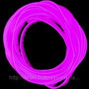 Холодный неон с кантом 2-го поколения 2,2 мм, фиолетовый (розница, опт) фото