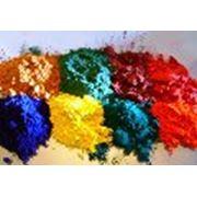 Пигменты и красители (железоокисные органические неорганические и др.) фото