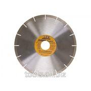 Диск алмазный отрезной сегментный, 230х22,2 мм, Europa Standard фото