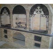 Кованная арка фото