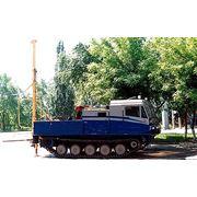 Бурильно-крановый aгрегат на базе TM-120 фото
