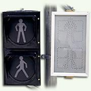 Светодиодные светофоры с обратным отсчётом времени фото